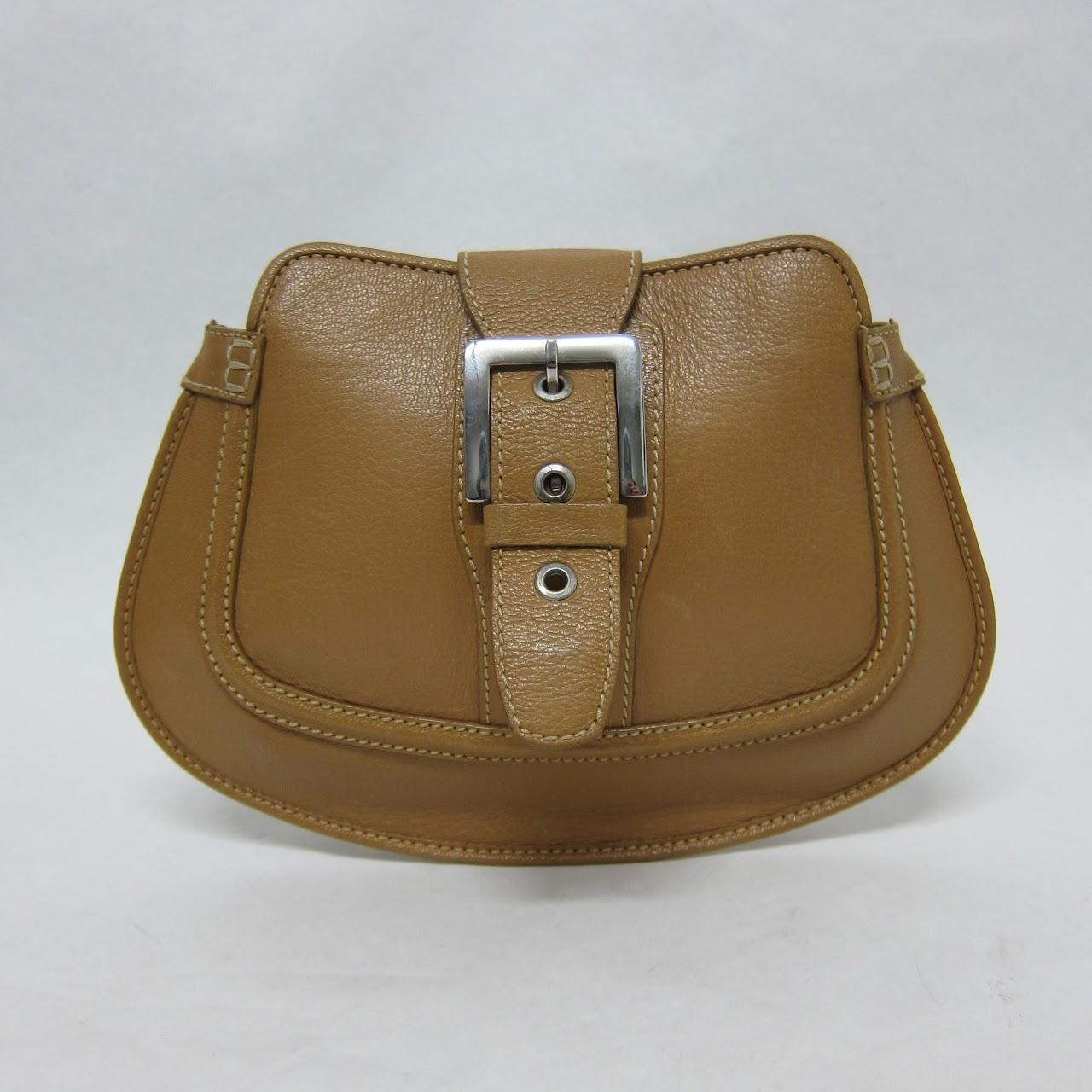 7f69bf31bed56 Tods Camel Leather Handbag