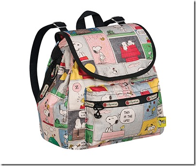 Peanuts X LeSportsac 9808 Small Edie Backpack 03