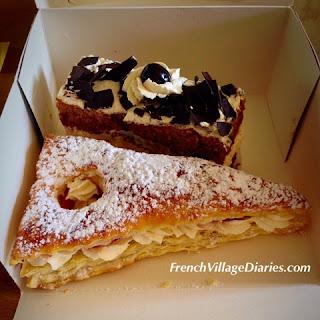 French Village Diaries Easter France Cornuelles boulangerie patisserie