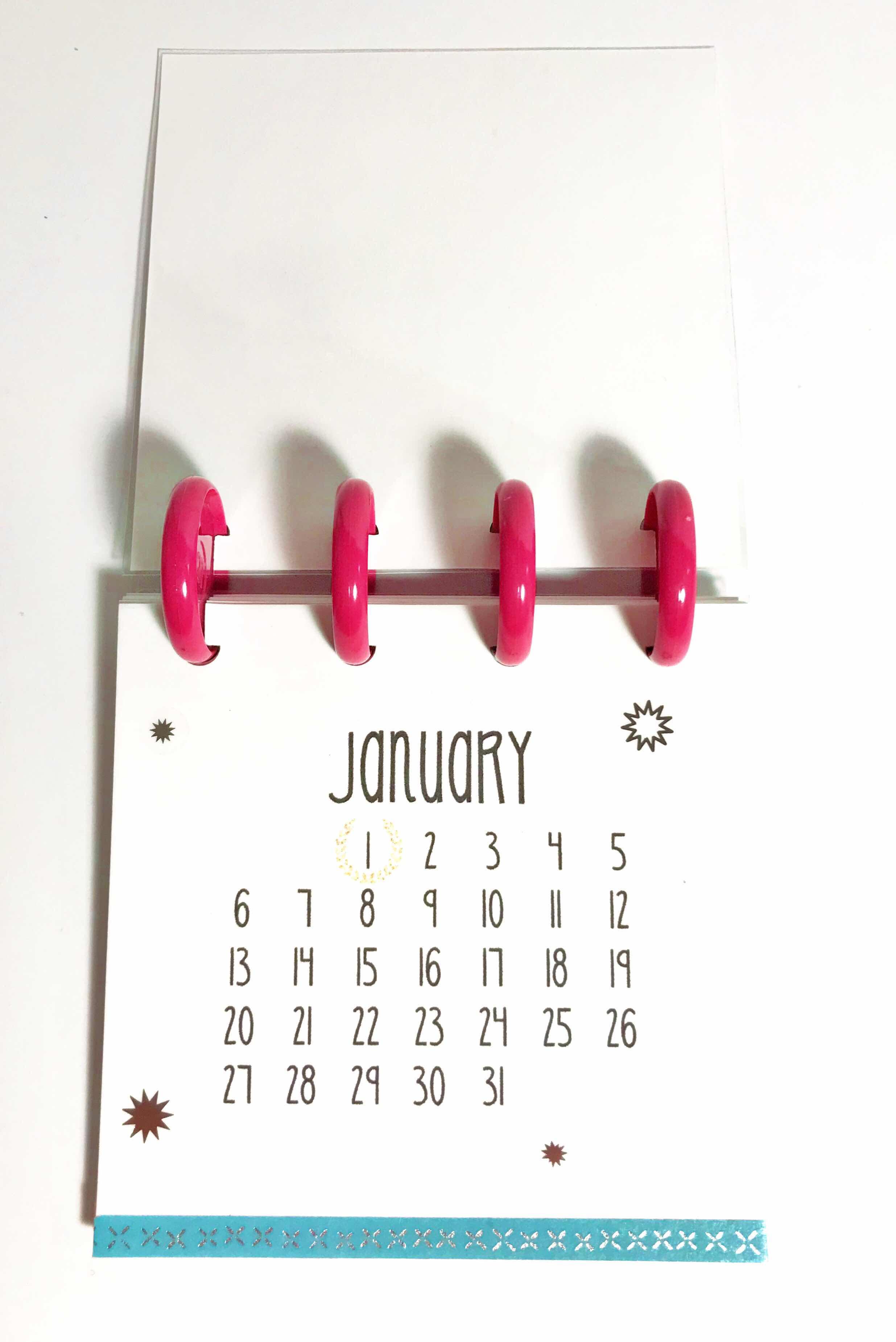 Indiana Inker 2019 Desk Calendar