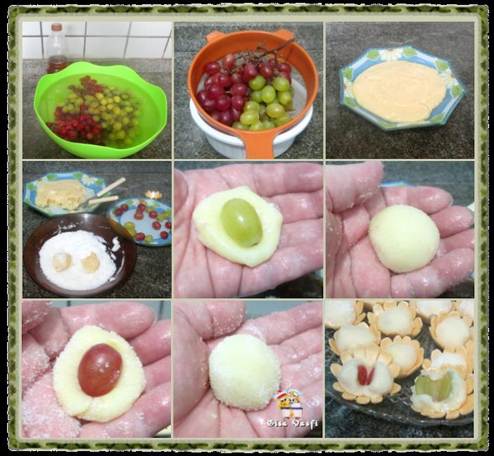 Brigadeiros de frutas 2