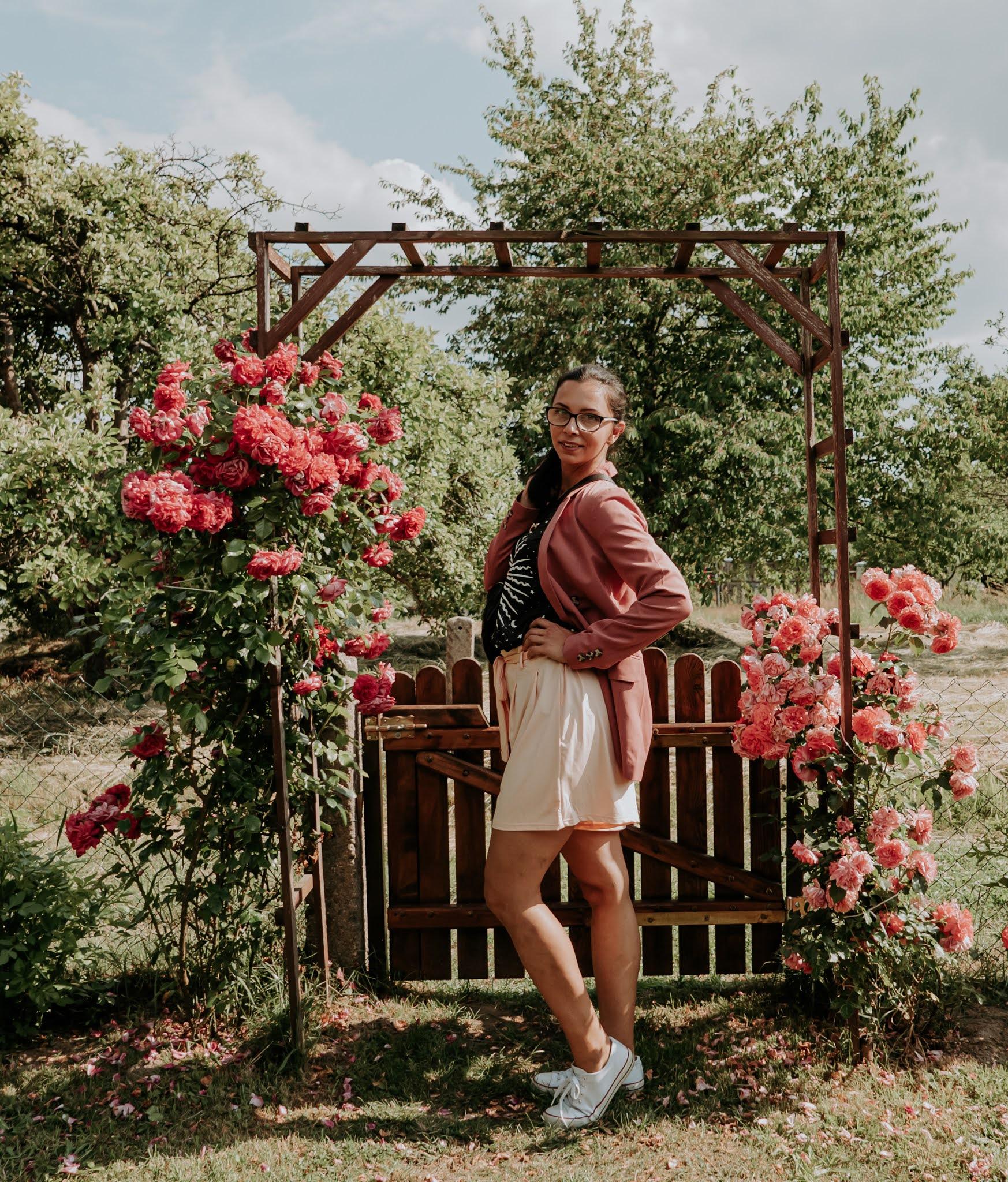 sesja zdjęciowa z różami