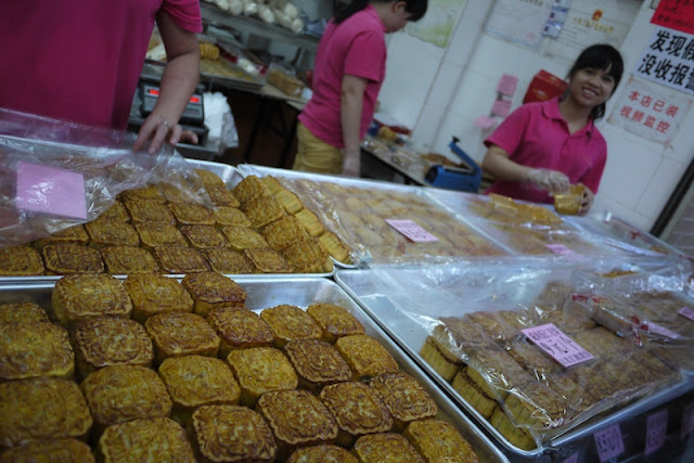 mooncakes for sale in Guangzhou, China