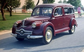 Panhard 1948 Dyna X Commerciale