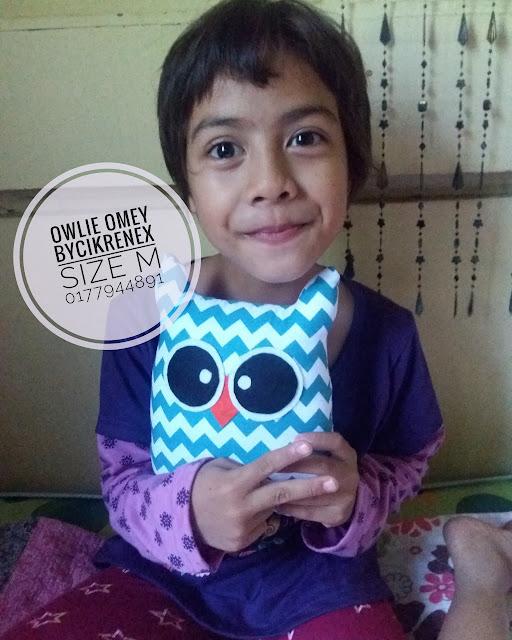 Owlie Omey; Bantal Burung Hantu