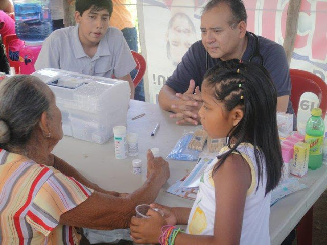 Dr. Andres Perez donated his services to provide medical consultations.