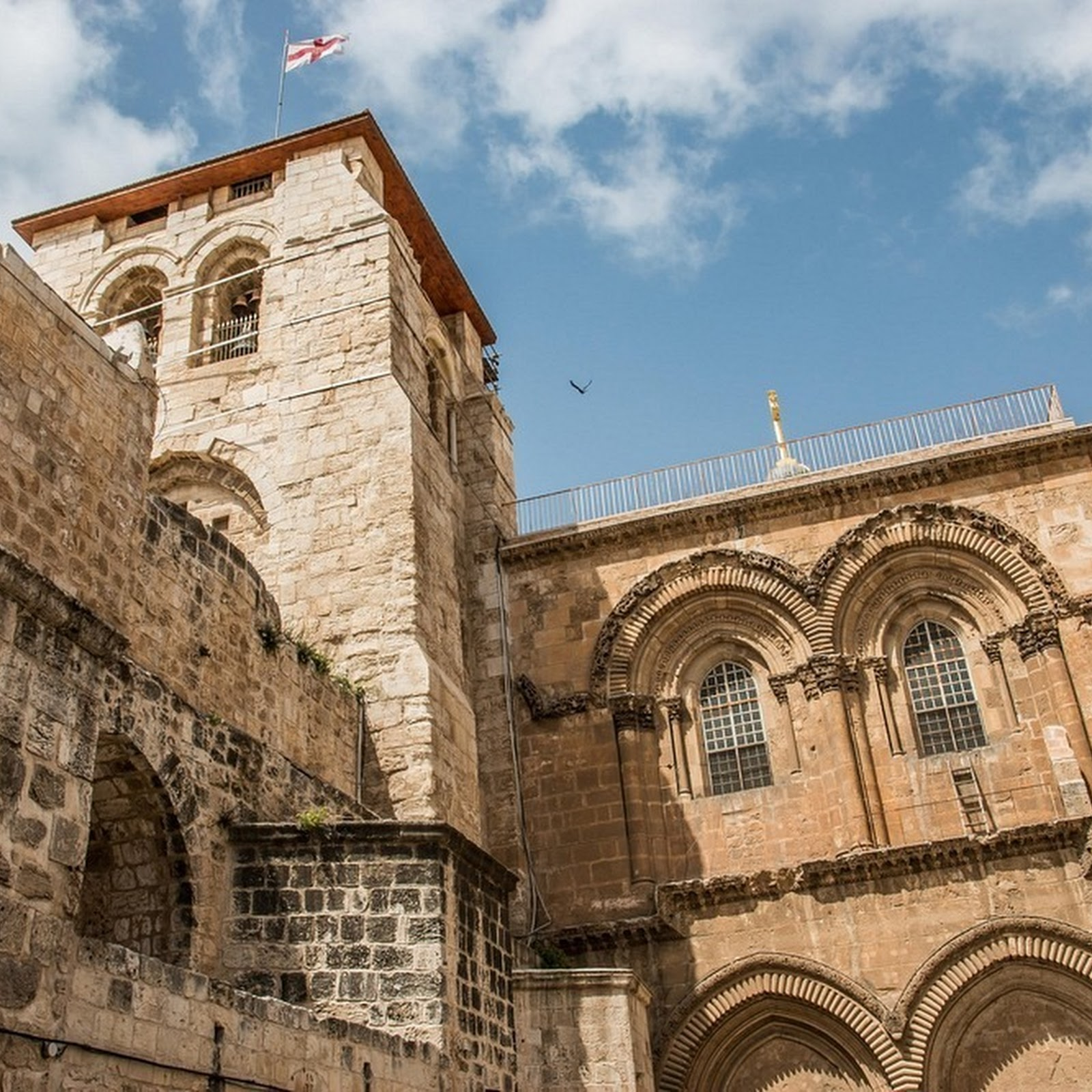 The Immovable Ladder of Jerusalem's Church of The Holy Sepulchre