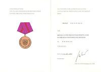 279a Medaille für treue Pflichterfüllung in der Zivilverteidigung der Deutsche Demokratische Republik in Bronze http://www.ddrmedailles.nl