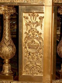 Detail, The King's Bedchambers, Château de Versailles