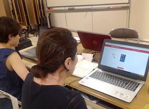名鉄百貨店(名駅)で開講している初心者向けのパソコン教室(ペイントで画像加工)