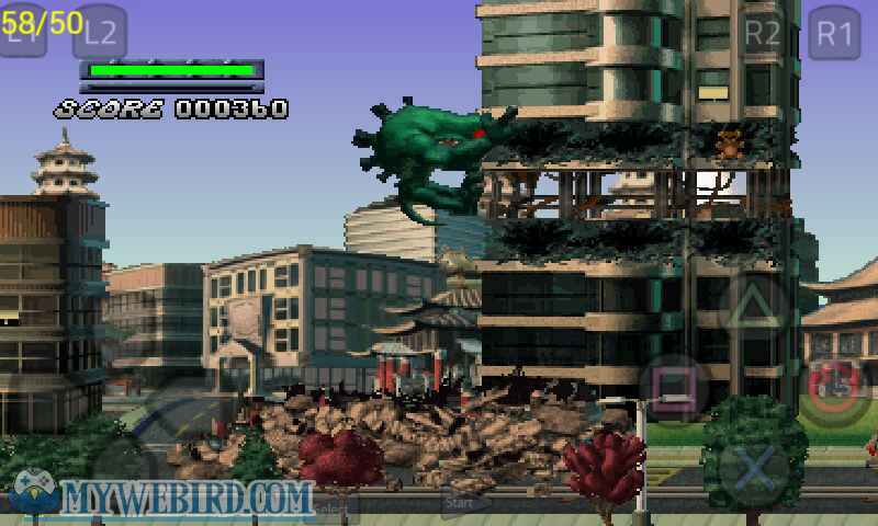 Rampage 2 Green Myukus