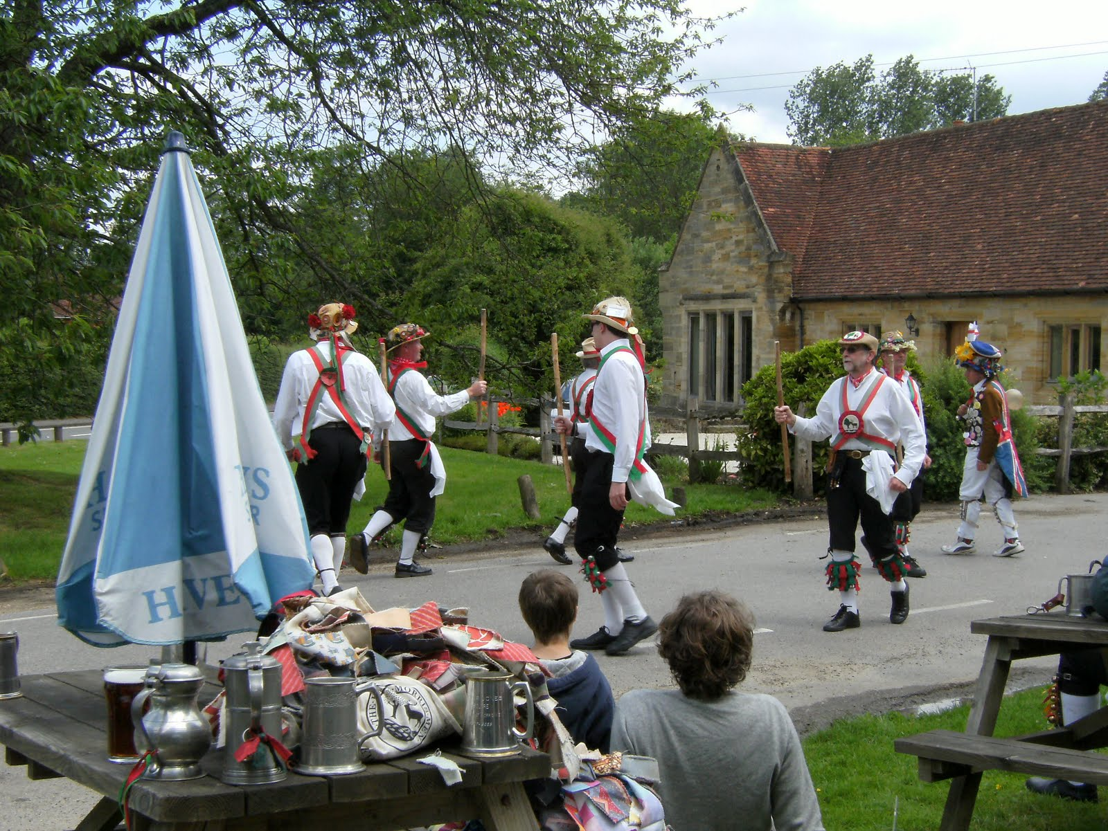 1006120023 Hartley Morris Men at the Dorset Arms