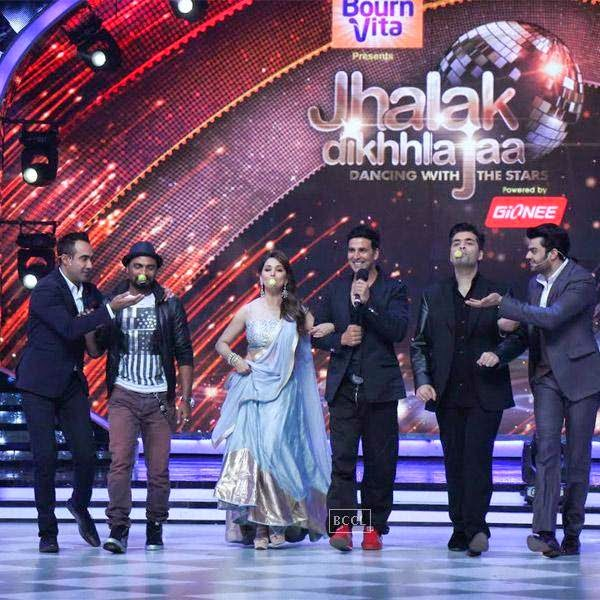 Akshay Kumar on the sets of Jhalak Dikhhla Jaa 7.(Pic: Viral Bhayani)