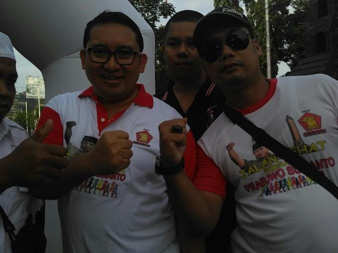 Jalan Sehat Gerakan Indonesia Raya Bersama Prabowo Subianto