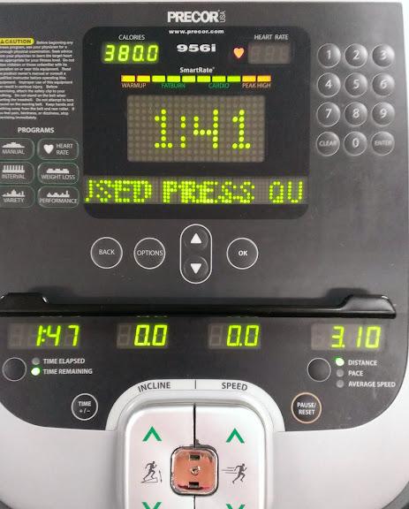 dreadmill workout
