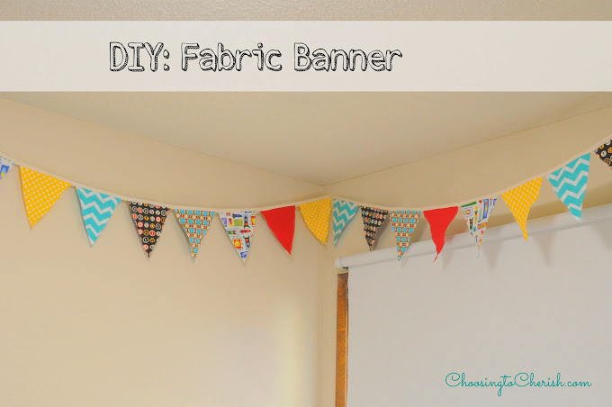 How to make fabric banner