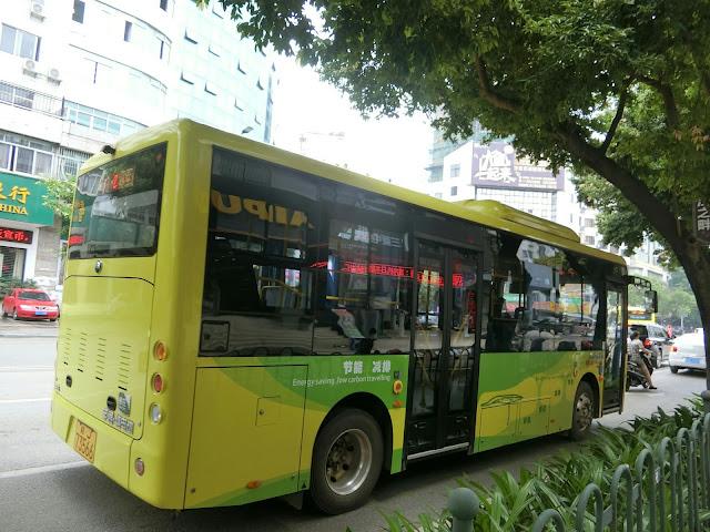 賀州公交大部分都係電動車 - 兩岸三地巴士 (B4) - hkitalk.net 香港交通資訊網 - Powered by Discuz!