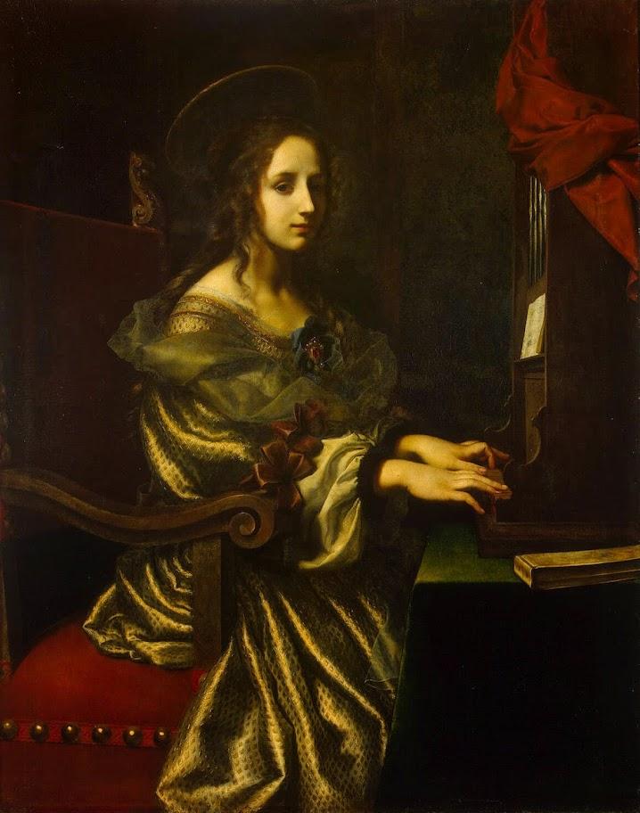 Carlo Dolci - St Cecilia