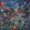 Botanisches, 2003. �l auf Leinwand, 45 x 50 cm. Euro 2.800,-