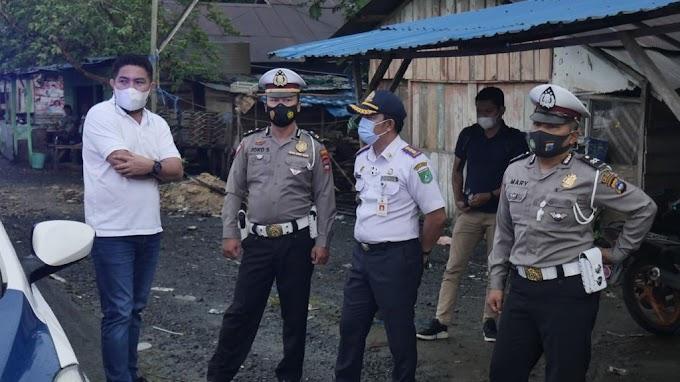 Sering Kecelakaan Waket DPRD Kalsel Tinjau Traffic Light di Sarigadung Tanah Bumbu