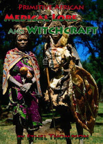 Cover of Ethel Thompson's Book Primitive African Medical Lore And Witchcraft