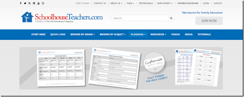 schoolhouse teachers custom schedule builder