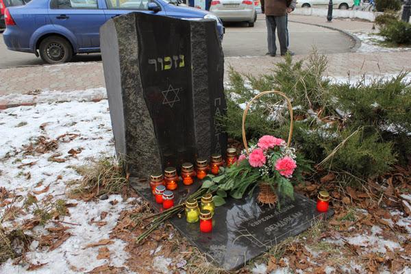 Памятный камень на ул. Минайской