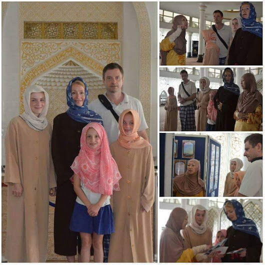 Australian family converted into islam