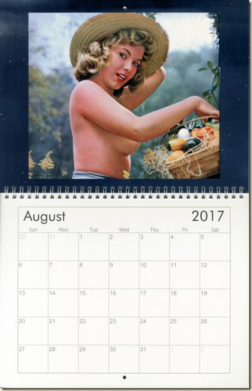 08 Aug - Eva Lynd calendar cover
