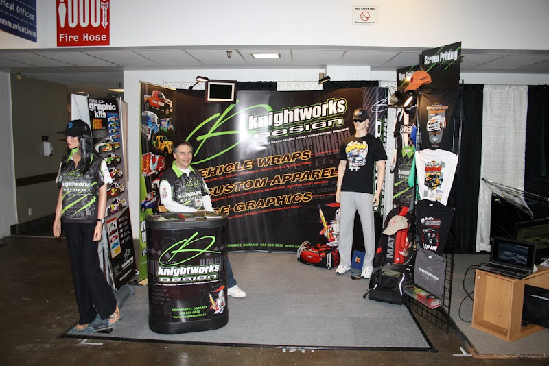 Knightworks Design booth.