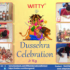 Dussehra Celebration by Pre - Primary Section ( 2018-19 ),Witty World, Goregaon East