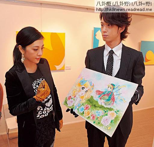 屬《小甜甜》 fans的胡敏珊,打算趁今次展覽,出價收藏作者親筆畫的小甜甜。