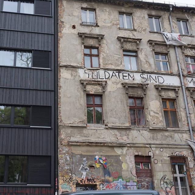 itä-Berliini, vallattu talo