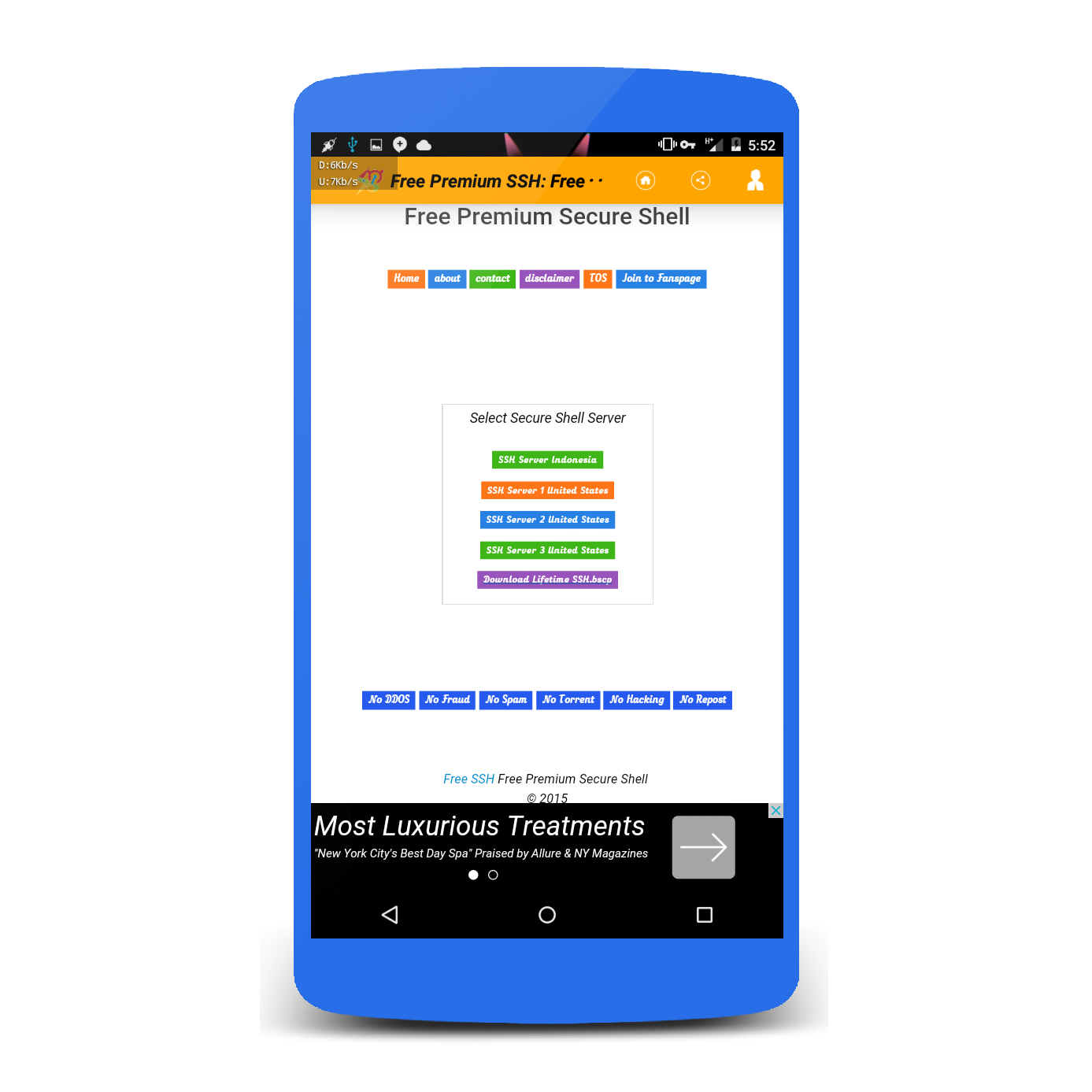 Ssh android apk