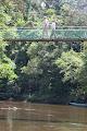 Crossing the Melinau bridge from Park HQ | photo © Matt Kirby