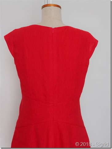 Back dressform