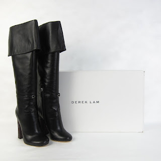 * SALE* Derek Lam NEW Retamid Leather Over the Knee Boot