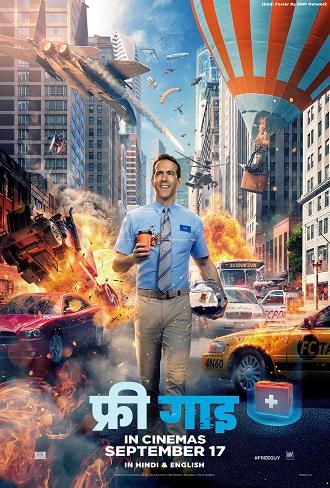Download Free Guy 2021 HDCAM 720p & 480p Dual Audio [Hindi Dub – English] Free Guy Full Movie Free
