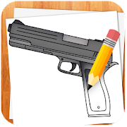 App How to Draw Weapons APK for Windows Phone
