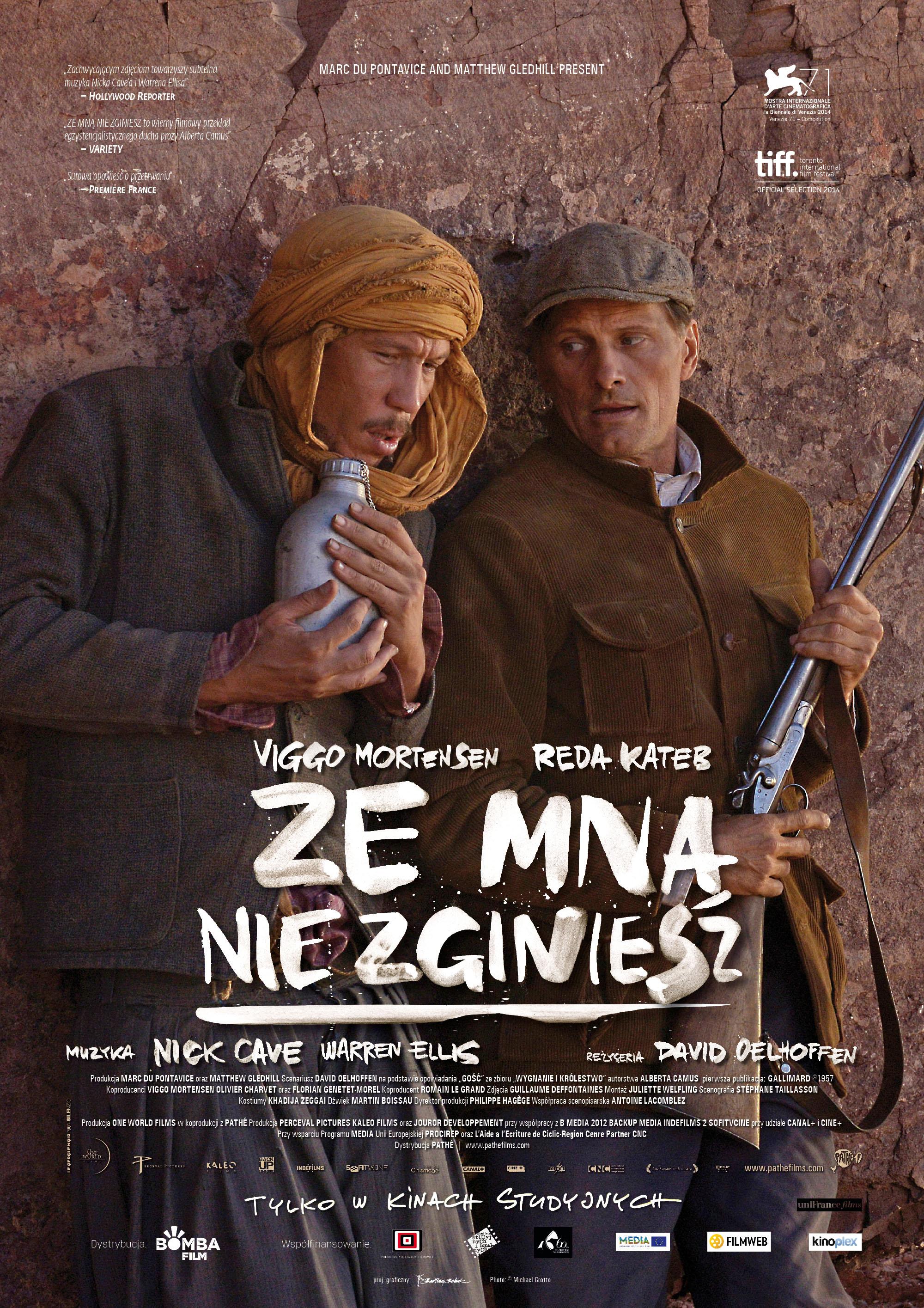 Polski plakat filmu 'Ze Mną Nie Zginiesz'