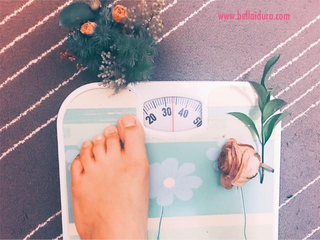 SOP / Cara menimbang berat badan