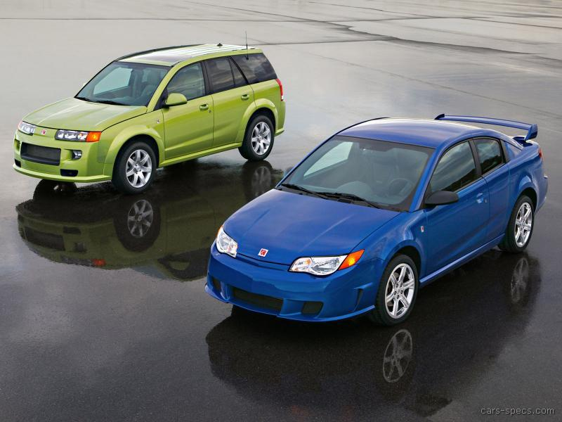 2004 Saturn ION Red Line Specifications, Pictures, Prices