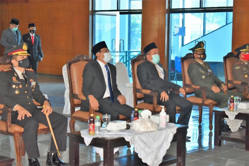 UPACARA PERINGATAN HARI KESAKTIAN PANCASILA TAHUN 2020 SECARA VIRTUAL DENGAN ISTANA NEGARA REPUBLIK INDONESIA