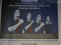 Lowongan kerja Bank Indonesia terbaru 2016