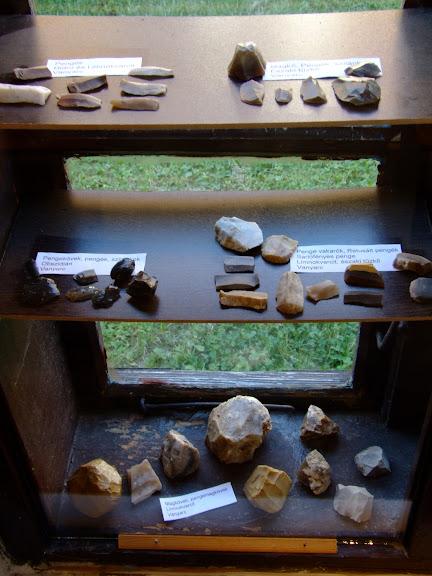 Bronzkori és kőkori leletek Vanyarcon