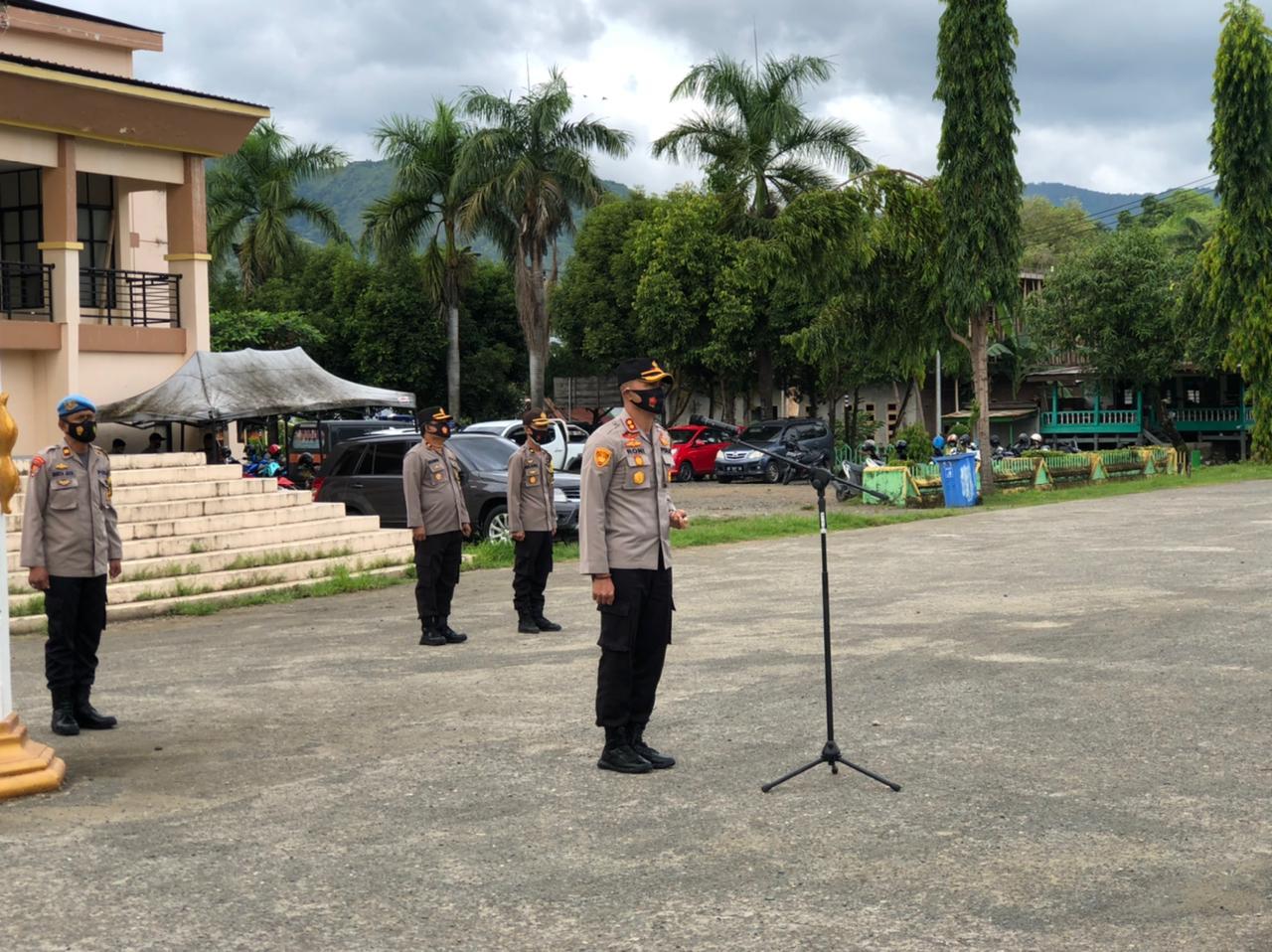Kapolres Soppeng Berterima Kasih Kepada Personil yang Bantu Musibah Gempa di Mamuju