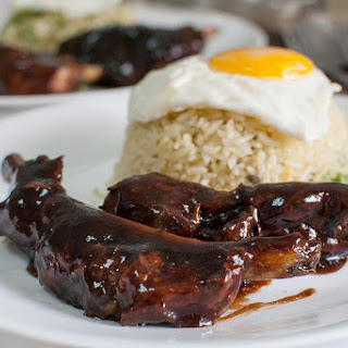 Asian Braised Pork Ribs.