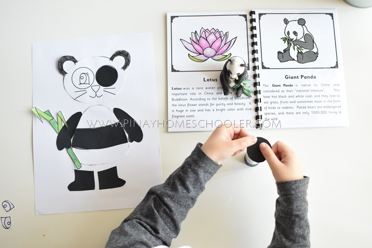 Giant Panda Bear Craft