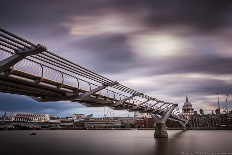Harry Potter Filming Location London - Millenium Bridge