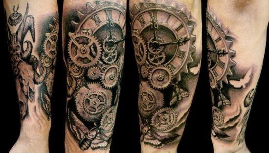 steampunk_relgio_mo_da_tatuagem